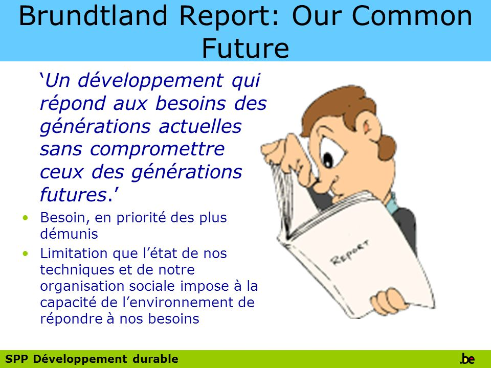 Brundtland Report: Our Common Future