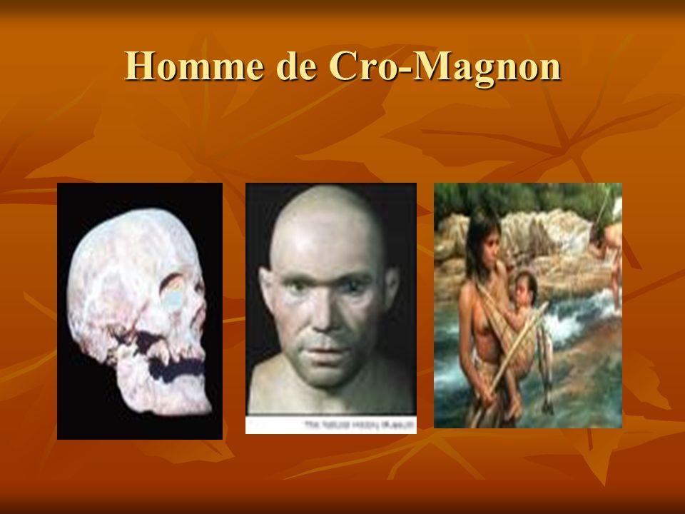 Homme de Cro-Magnon