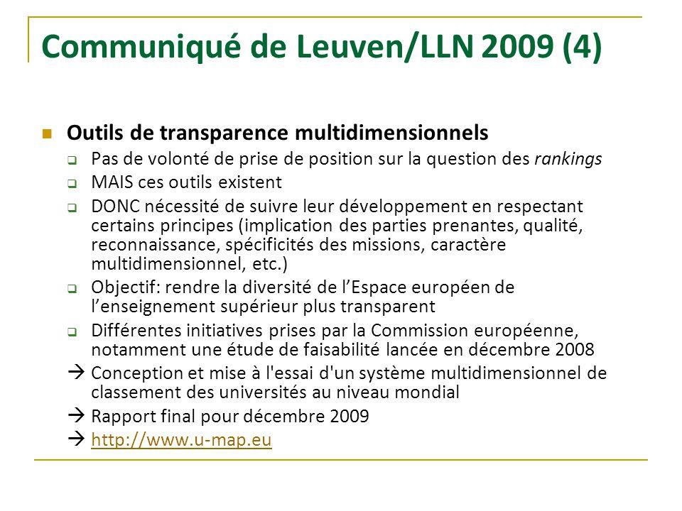 Communiqué de Leuven/LLN 2009 (4)