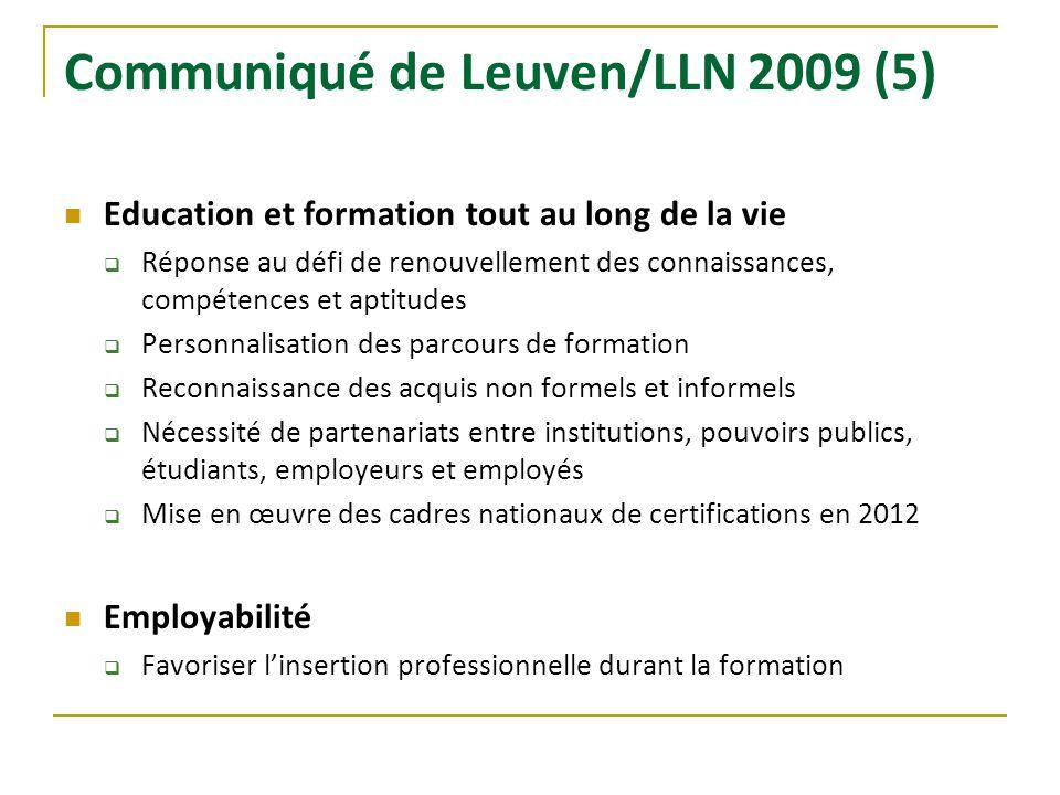 Communiqué de Leuven/LLN 2009 (5)