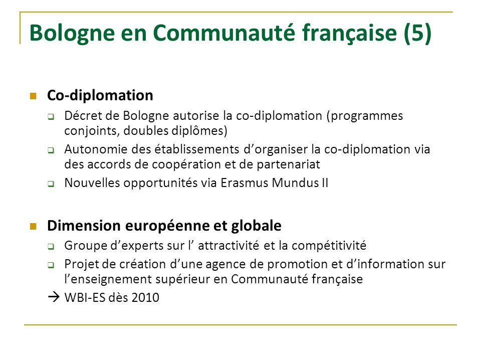 Bologne en Communauté française (5)