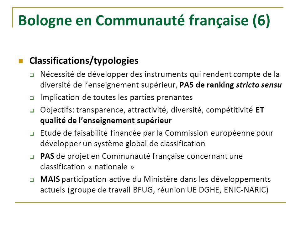 Bologne en Communauté française (6)