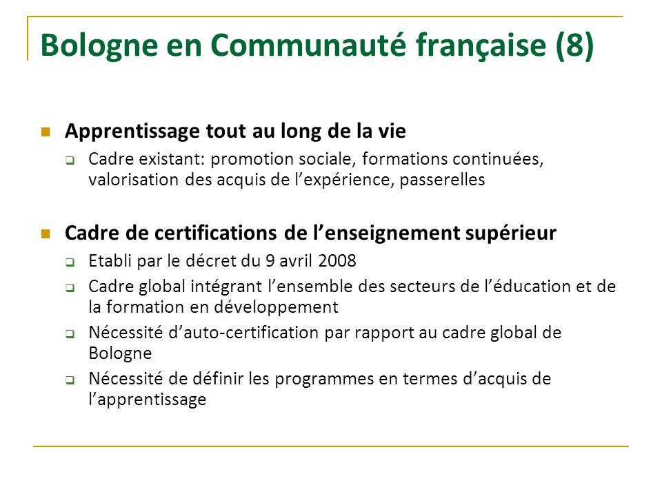 Bologne en Communauté française (8)
