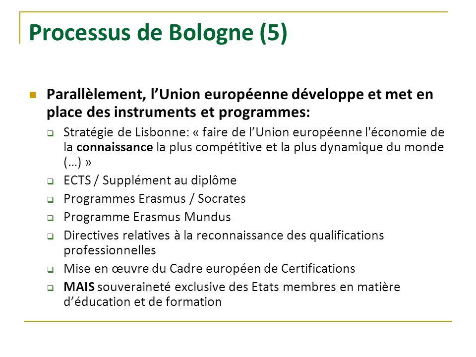 Processus de Bologne (5)