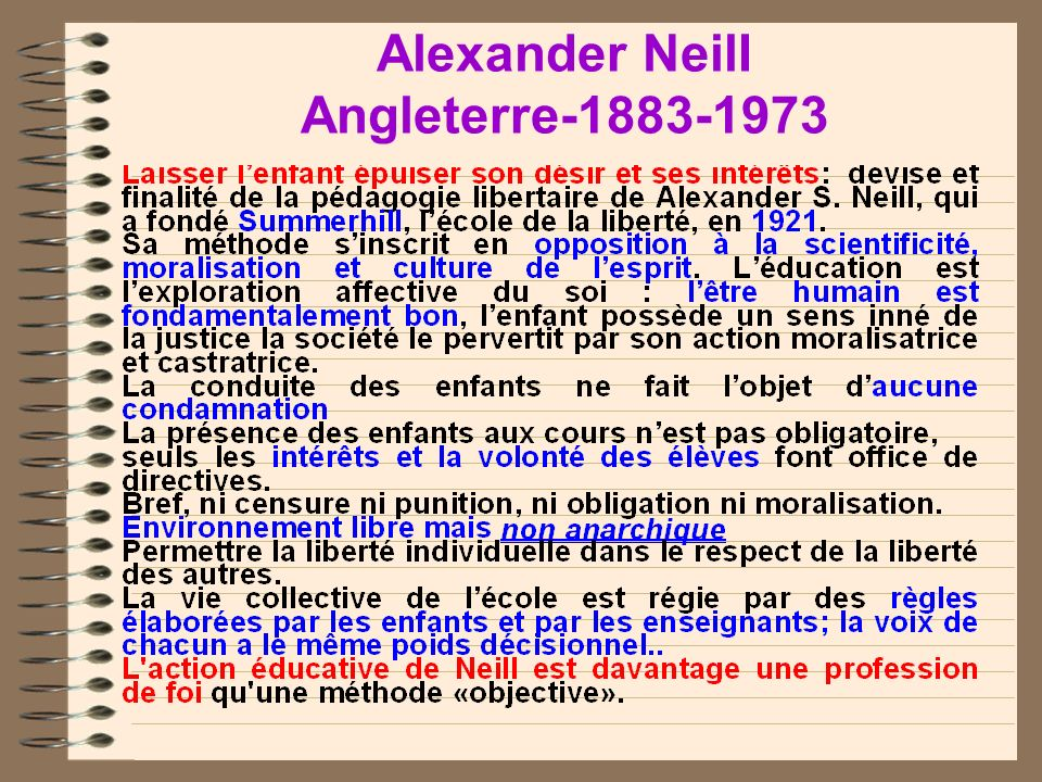 Alexander NeilI Angleterre-1883-1973