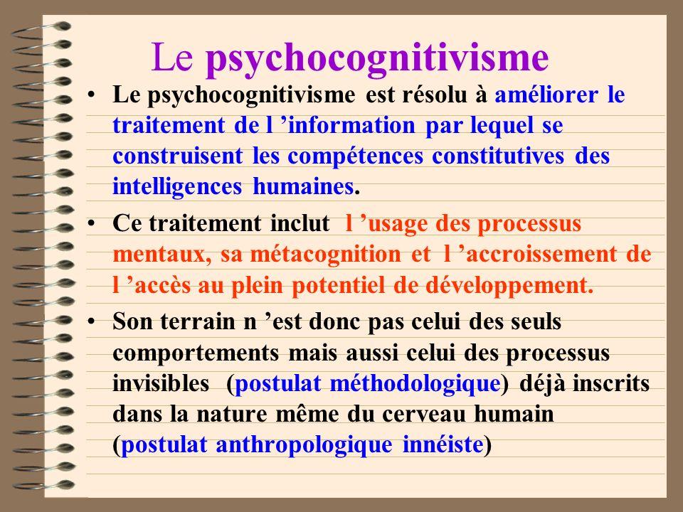 Le psychocognitivisme