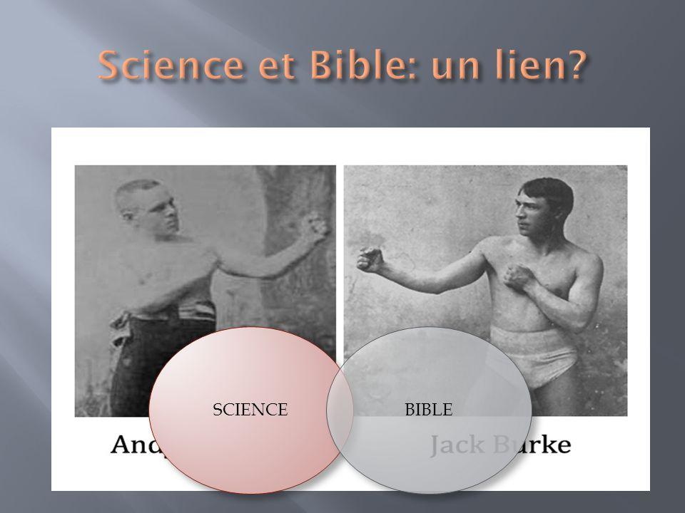 Science et Bible: un lien
