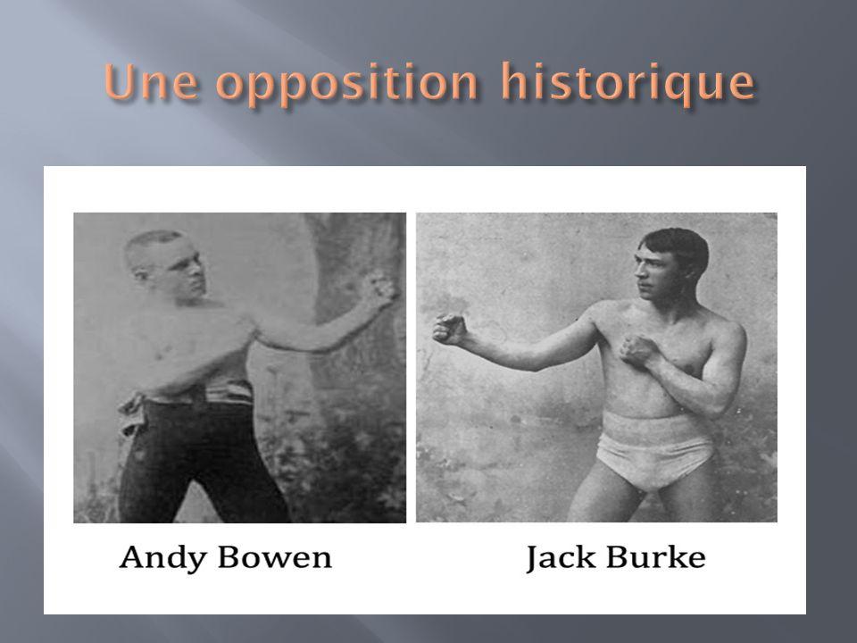 Une opposition historique