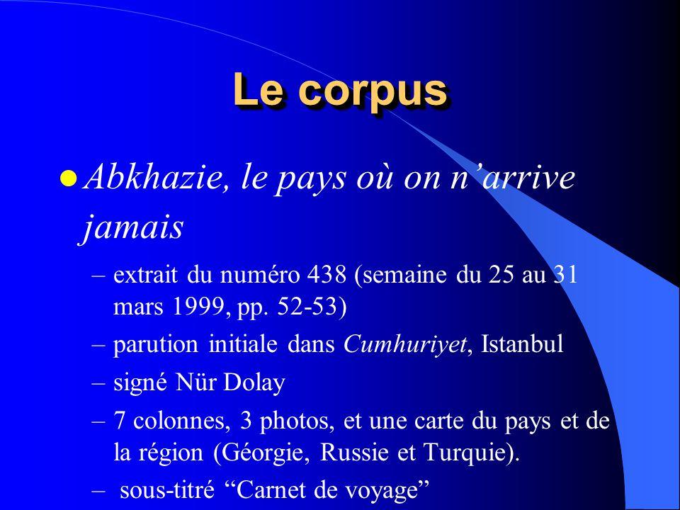 Le corpus Abkhazie, le pays où on n'arrive jamais