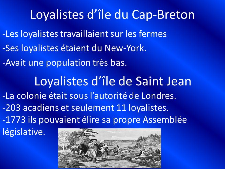 Loyalistes d'île du Cap-Breton