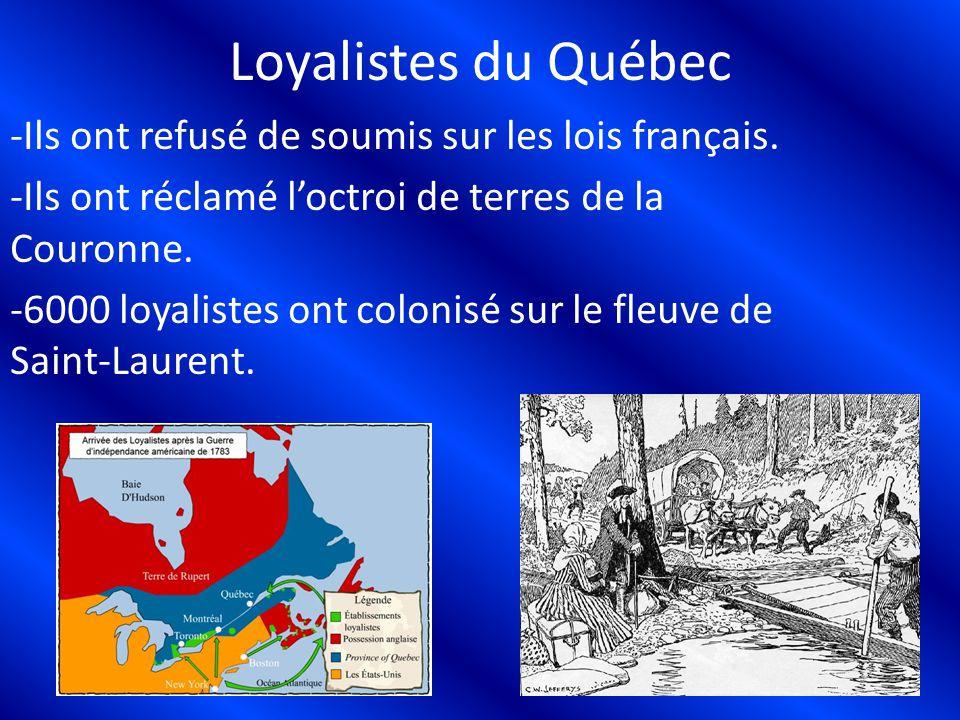 Loyalistes du Québec
