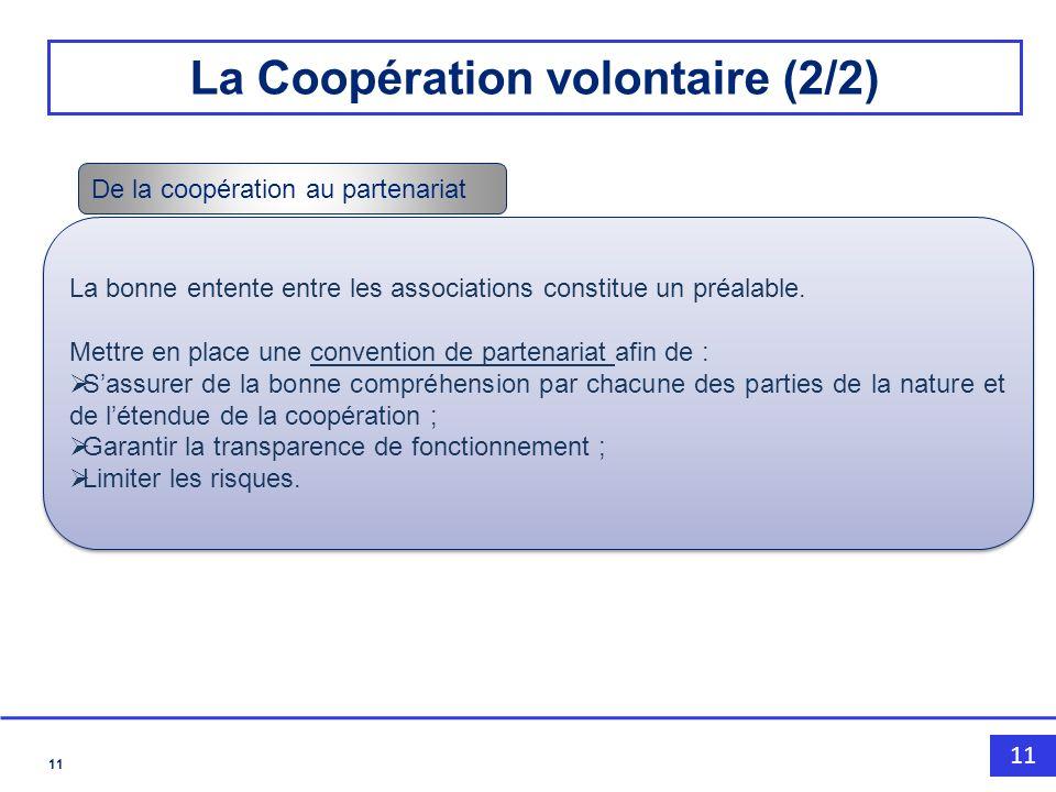 La Coopération volontaire (2/2)