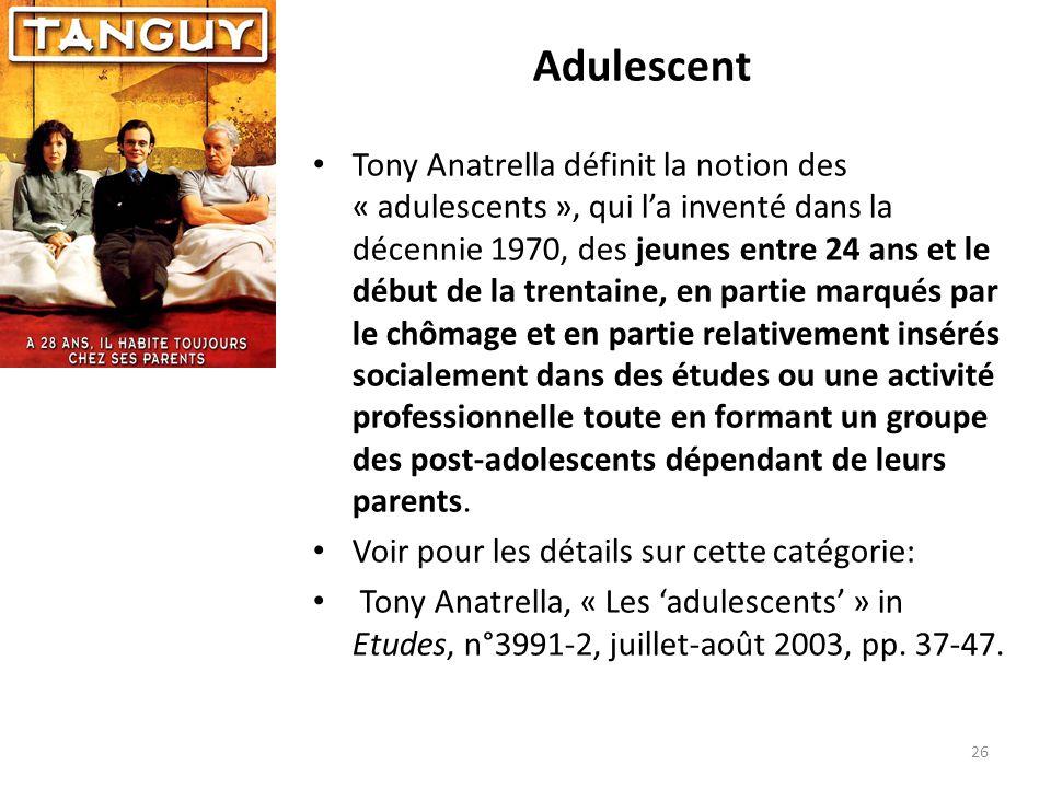 Adulescent