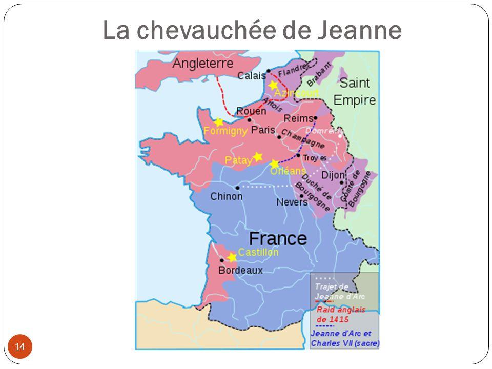 La chevauchée de Jeanne