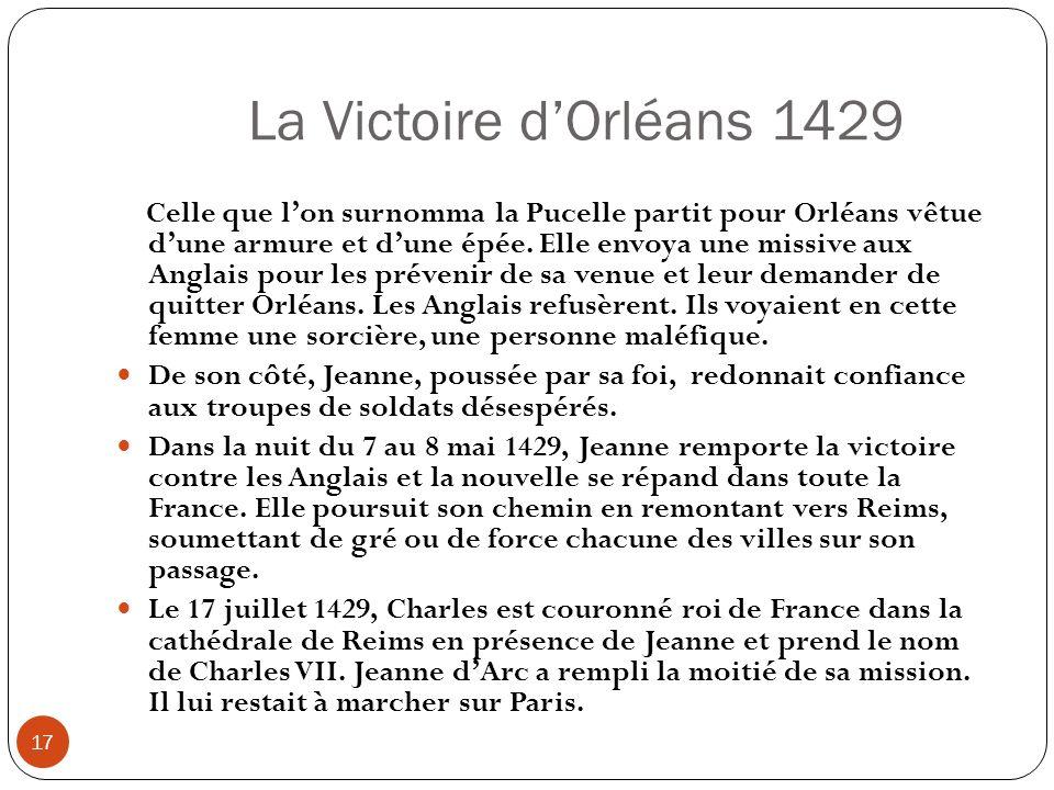 La Victoire d'Orléans 1429