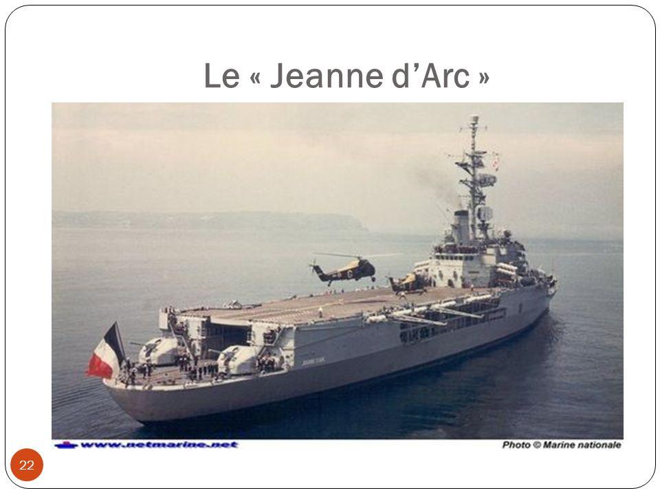 Le « Jeanne d'Arc »