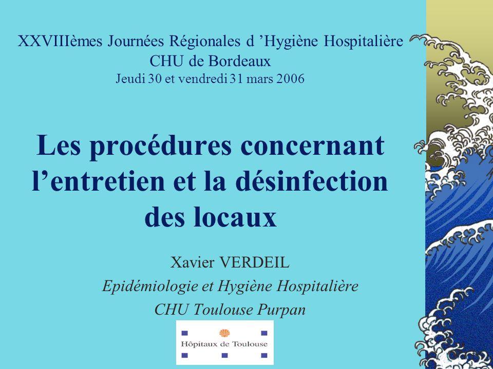 Epidémiologie et Hygiène Hospitalière