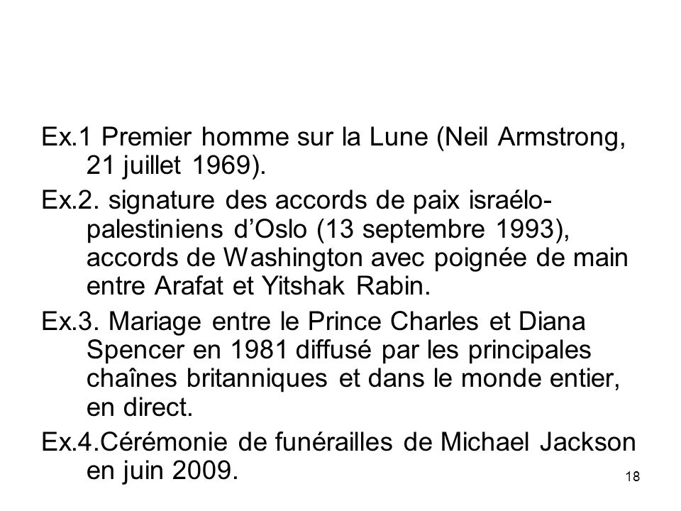 Ex.1 Premier homme sur la Lune (Neil Armstrong, 21 juillet 1969).