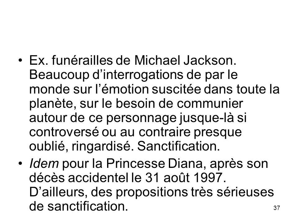 Ex. funérailles de Michael Jackson