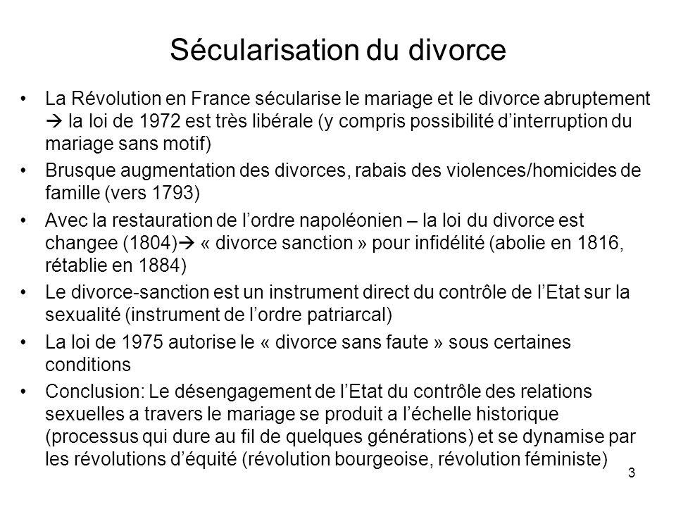 Sécularisation du divorce