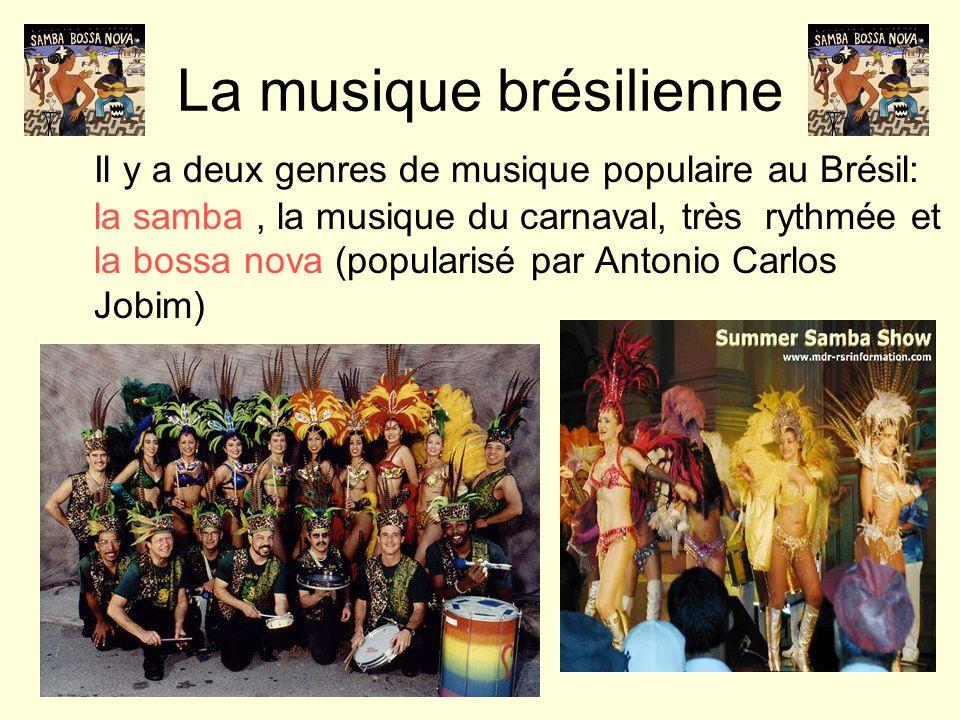 La musique brésilienne
