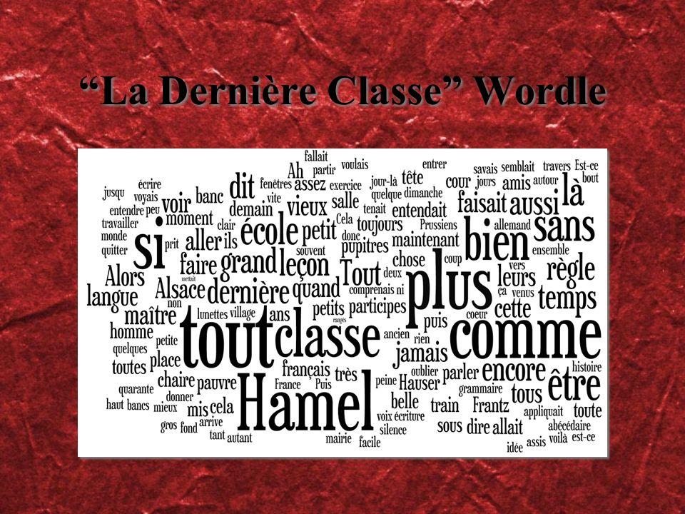 La Dernière Classe Wordle