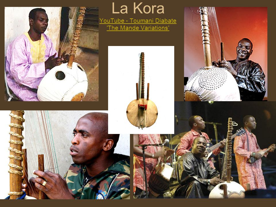 La Kora YouTube - Toumani Diabate The Mande Variations