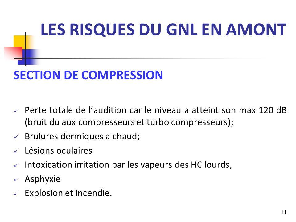 LES RISQUES DU GNL EN AMONT