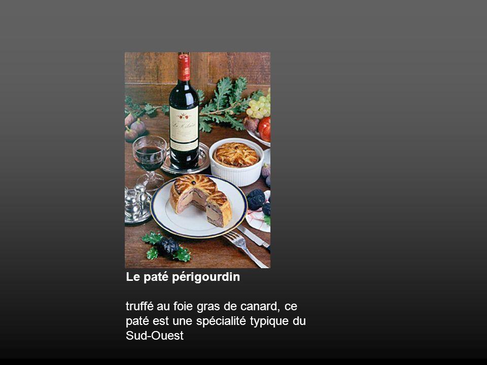 Le paté périgourdin truffé au foie gras de canard, ce paté est une spécialité typique du Sud-Ouest
