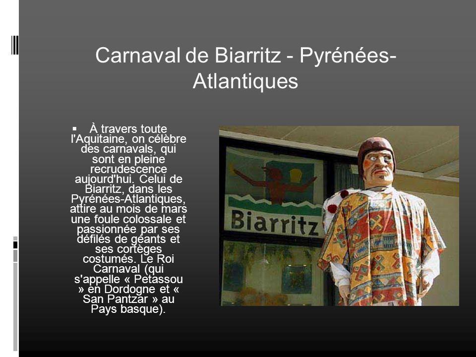 Carnaval de Biarritz - Pyrénées-Atlantiques