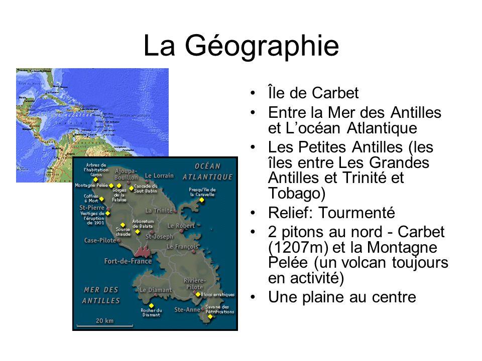 La Géographie Île de Carbet