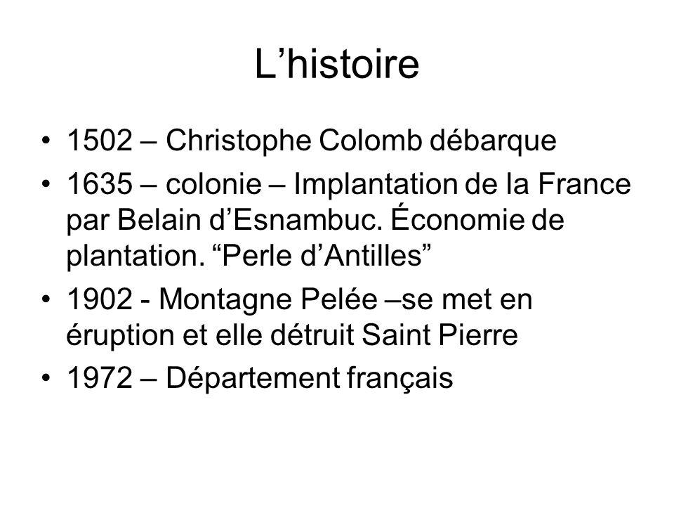 L'histoire 1502 – Christophe Colomb débarque