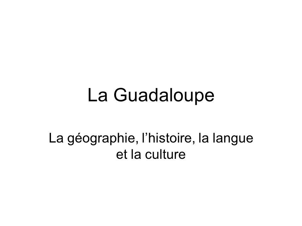 La géographie, l'histoire, la langue et la culture