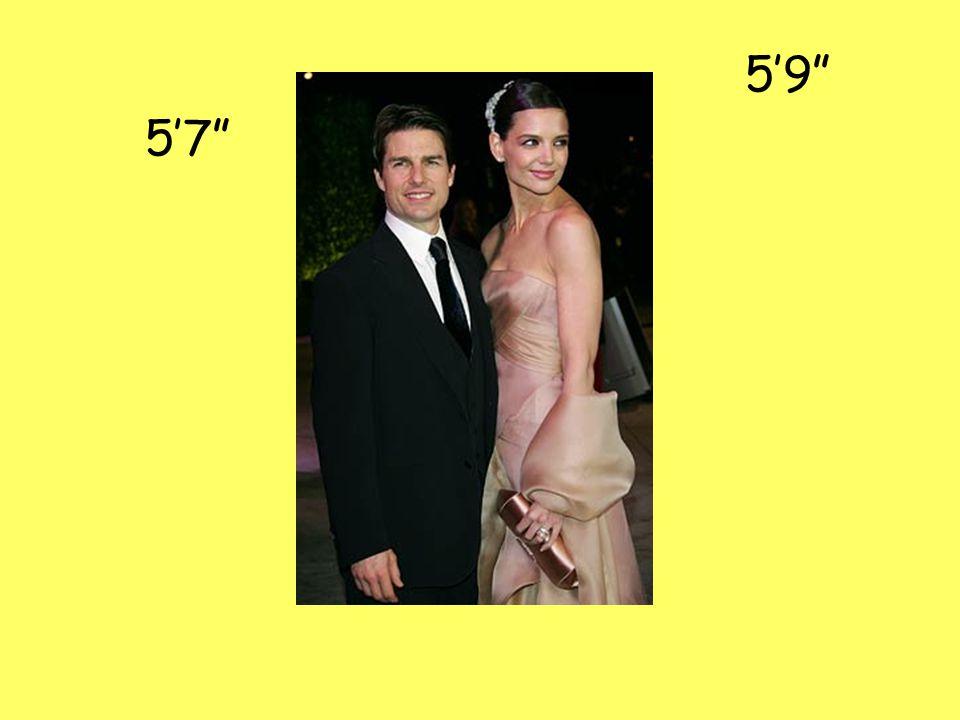 5'9 5'7
