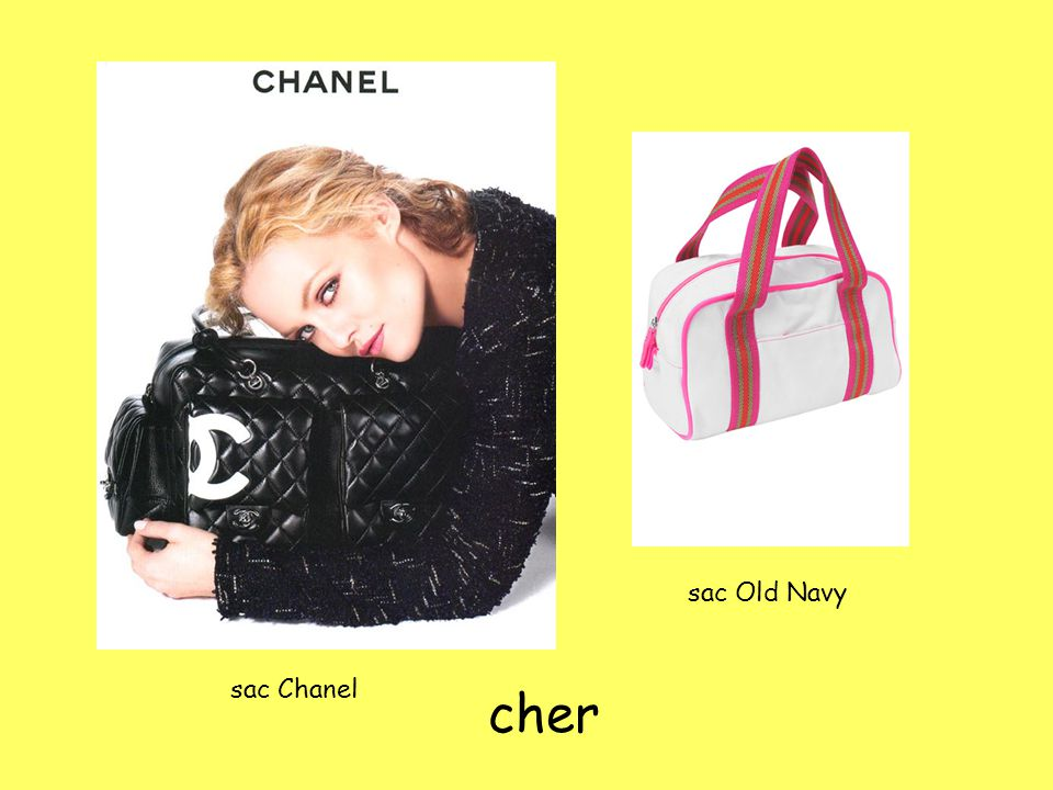 sac Old Navy sac Chanel cher