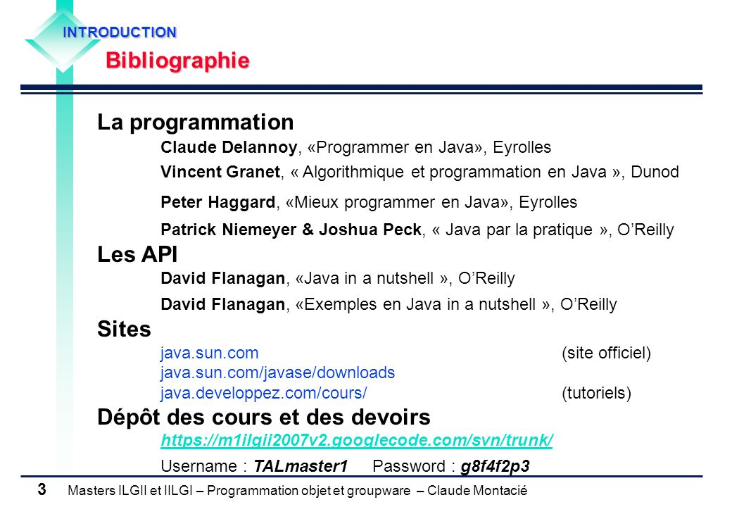 Patrick Niemeyer & Joshua Peck, « Java par la pratique », O'Reilly