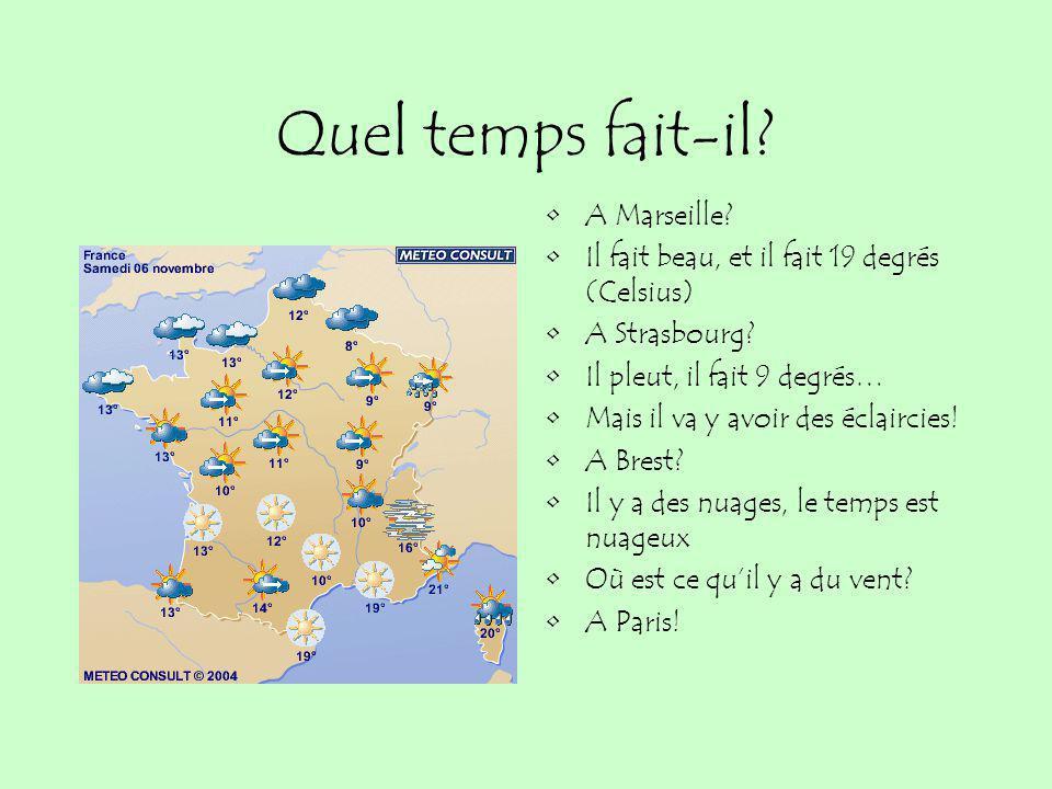 Quel temps fait-il A Marseille
