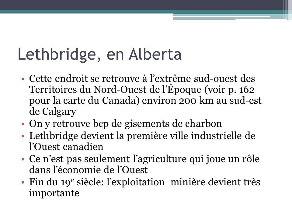 Lethbridge, en Alberta