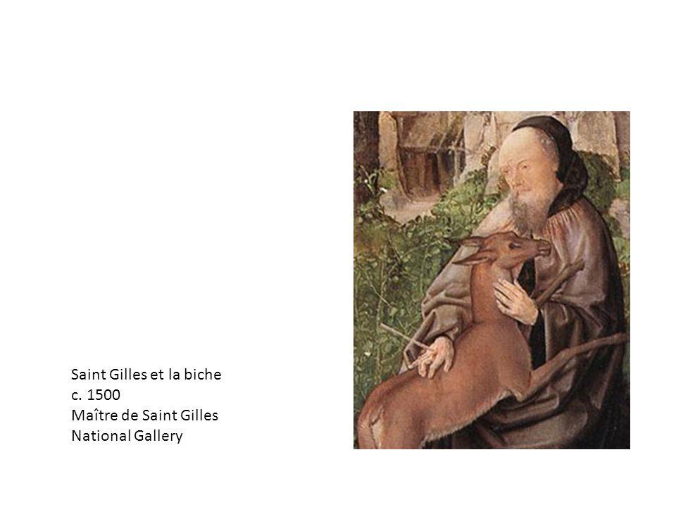 Saint Gilles et la biche