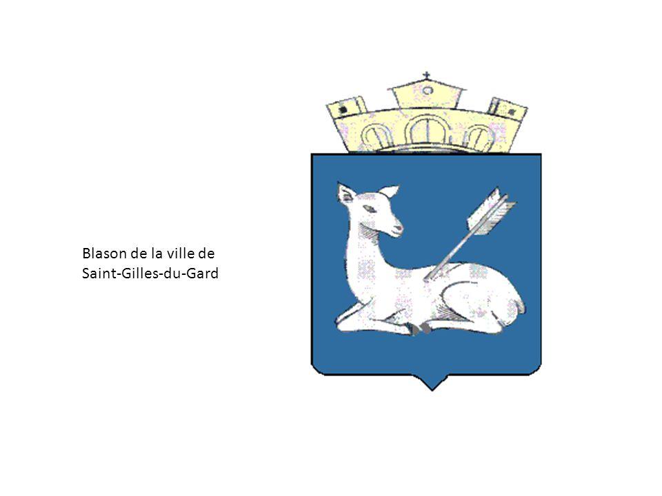 Blason de la ville de Saint-Gilles-du-Gard