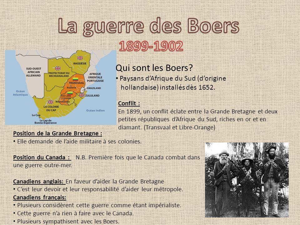 La guerre des Boers 1899-1902 Qui sont les Boers