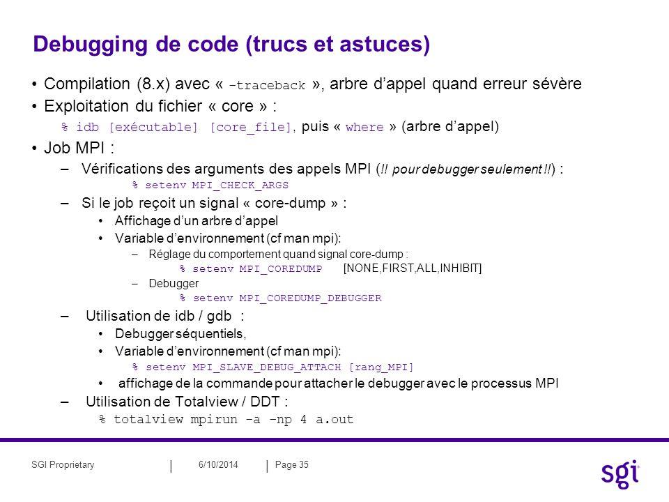 Debugging de code (trucs et astuces)