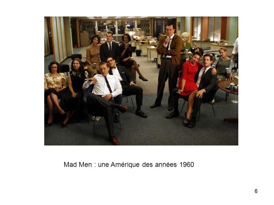 Mad Men : une Amérique des années 1960