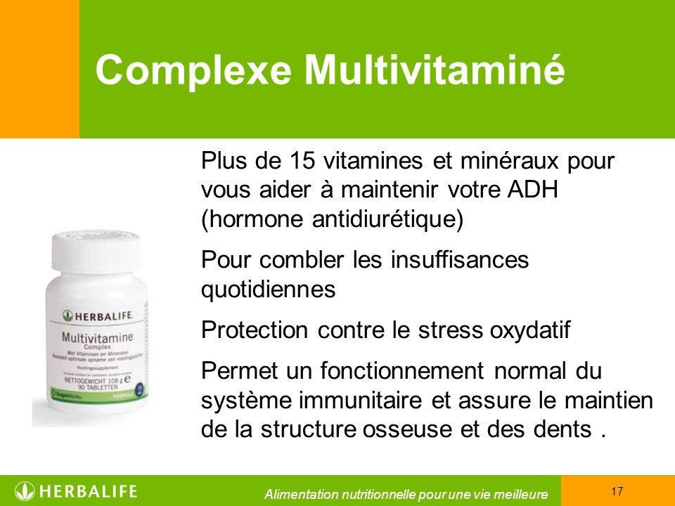 Complexe Multivitaminé