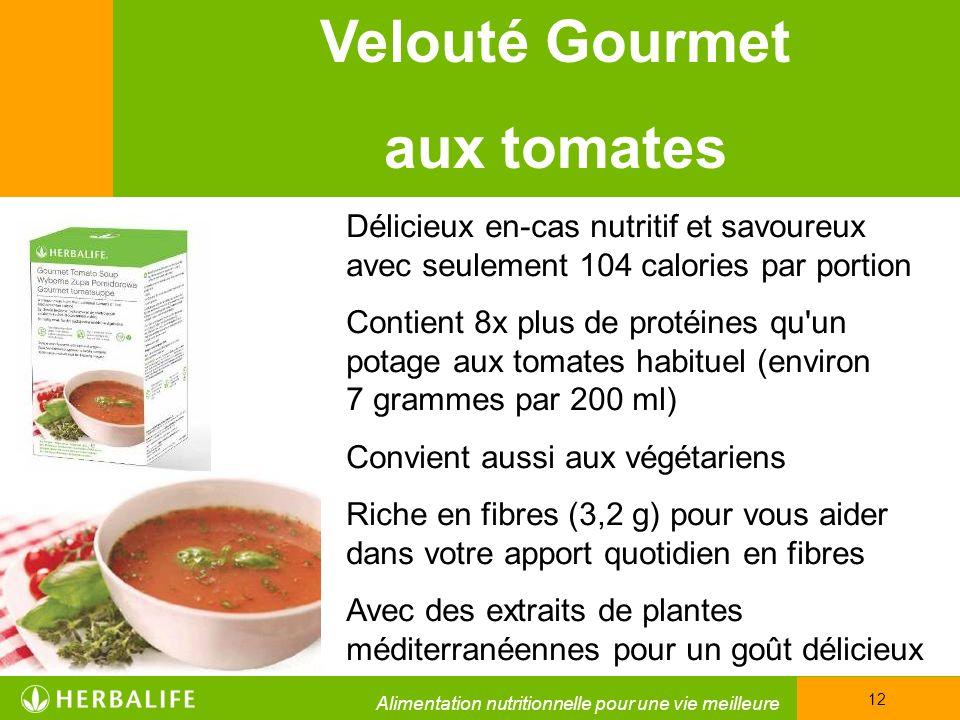 Velouté Gourmet aux tomates