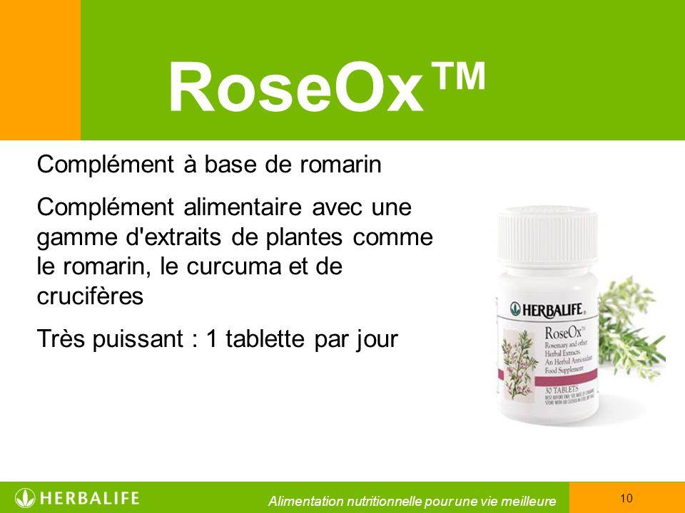 RoseOx™ Complément à base de romarin