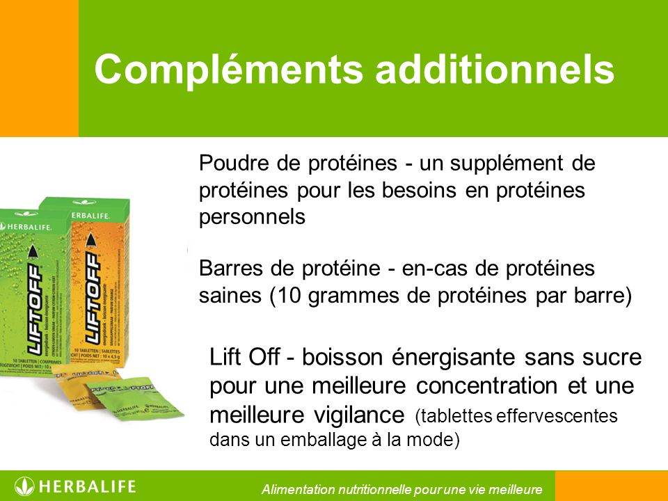 Compléments additionnels