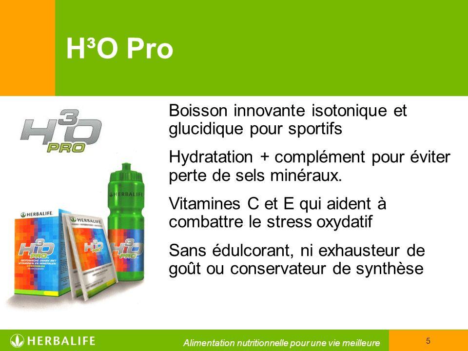 H³O Pro Boisson innovante isotonique et glucidique pour sportifs