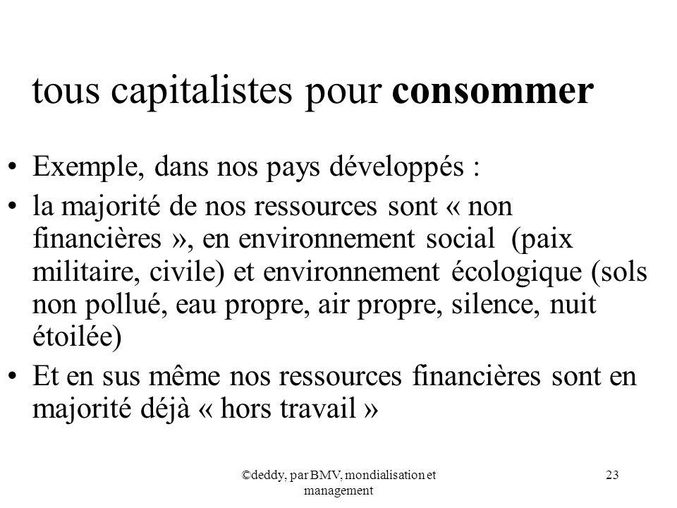 tous capitalistes pour consommer