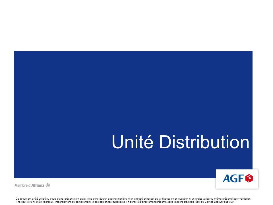 Unité Distribution